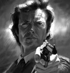 Dirty Harry Sketch by JonathanGragg