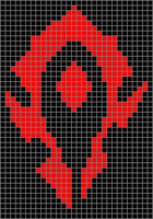 Horde WoW xstitch pattern by NurseTab