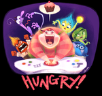InsideOut: HUNGRY by Fairygodflea