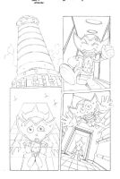 Sonic x #40 pg 8 by Dhutchison