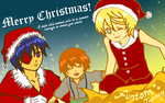 Luca's Christmas Wish by kamelyon