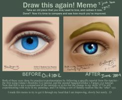 Draw This Again - Eyes by AzuraDragoness
