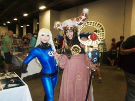 Invisible woman and Rita Repulsa by allanimerules1