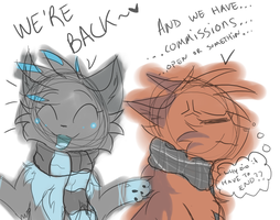 Back With Commissions! - :Closed: by MistDapple