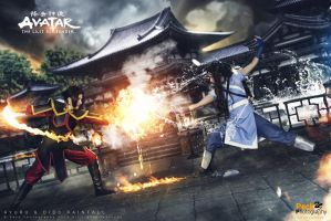 Avatar - Katara and Azula: The inevitable battle by DidsRainfall