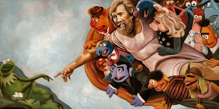 The Creation of Muppet by strangelydrawn
