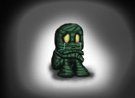 Amumu, the Sad Mummy by Driftingwood