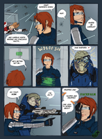 ME2 - Missing Turian by JadeRaven93