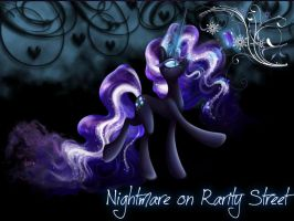 Nightmare on Rarity Street by Mobin-Da-Vinci