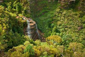 Upper Wentworth Falls by La-Vita-a-Bella