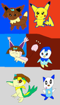 Pokemon Mystery Dungeon forms part 1 by SuperSmashCynderLum
