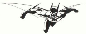 sketchy : Batman Beyond by KidNotorious