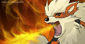 Arcanine by TheMysticWolf