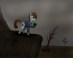 Littlepip - Into the Wasteland by Lycan-01
