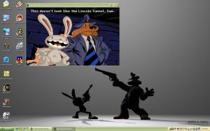 sam and max hit my desktop by cherriegal