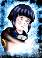 Hinata - My first art colorized in Gimp by reinaldoabdo