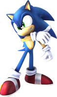 Sonic (Super Smash Bros. Brawl) by itsHelias94