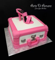 Suitcase Cake by ArteDiAmore
