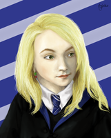 Luna Lovegood by Maybellez
