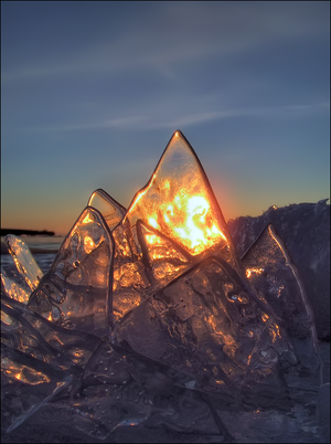 Ice on Fire by wb-skinner
