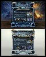 3d Game WebDesign Template by karsten