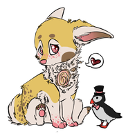 Ralphy and Mr. Puffin by DementedDAWG