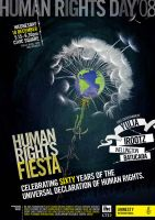 Human rights 60years poster by space-for-thought