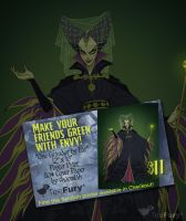 TEEFURY EXTRA - historical Maleficent poster print by shoomlah
