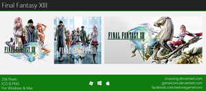 Final Fantasy XIII - Icon by Crussong