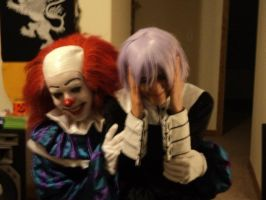 Crona can't deal with clowns by PeterSassyPan