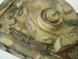 Tiger 1 Heavy Tank close up 2 by Reaver-8-0-8-0-8