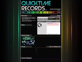 Quicktime Records myspace by mdw-rock