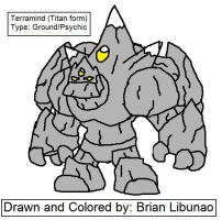 Fakemon: Earth Titan by Brian12