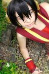 Avatar: Fire Nation Toph by VandorWolf