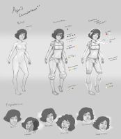 April's Character Sheet v1 by berggie