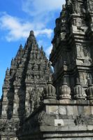 Indonesian Temple by FalconNL