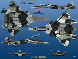 IFX-45R 6 View UPDATED Akula by haryopanji
