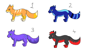 Free Adoptables~ CLOSED by LittleRock3DD