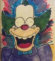 Krusty the Clown - 036 of 365 by thegreatjery