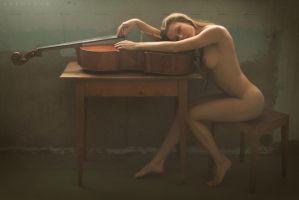 The Cellist by artofdan70