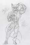 Smile and Flex by FireFox-Fever