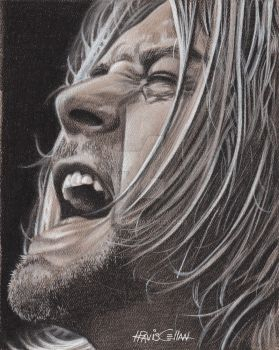 Kurt Cobain by tsignr