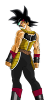 Bardock Time Breaker by elninja75
