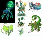 SPORE: Shades of Green by ExiledChaos