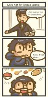 TATcomic: Man shall not live by bread alone by Poporetto