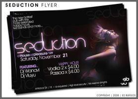 Seduction Flyer by Hleix