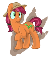 MLP OC - Fossil Fizz by sophiecabra