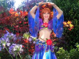 Red-haired Gypsy Queen Sofia - I was born to dance by SOFIAMETALQUEEN