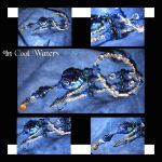 In Cool Water-Details by Dellessanna
