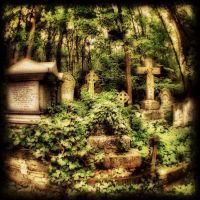 Highgate Cemetery London 9 by GraveQueen